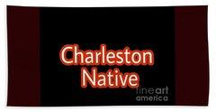Charleston Native Text 2 Bath Towel