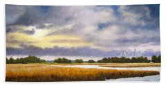 Charleston Sky Hand Towel