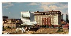 Charleston West Virginia Bath Towel by L O C