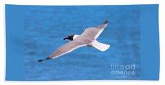 Charleston Wildlife. Seagull Bath Towel