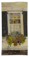 Charleston Window Hand Towel