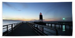 Charlevoix Light Tower Hand Towel