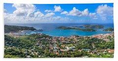 Charlotte Amalie St. Thomas In The Caribbean Bath Towel