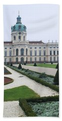 Charlottenburg Castle Berlin Bath Towel