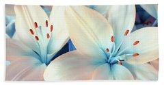 Charming Elegance Hand Towel by Iryna Goodall