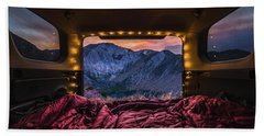 Chasing Sunset Hand Towel by Alpha Wanderlust