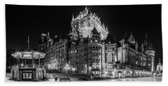 Chateau Frontenac Hand Towel