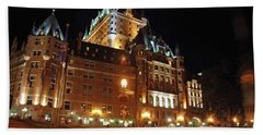 Chateau Frontenac Quebec 2008 Bath Towel