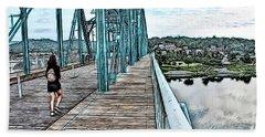 Chattanooga Footbridge Hand Towel