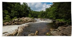 Chattooga Bull Sluice Bath Towel by Sean Allen