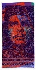 Che Guevara 3 Peso Cuban Bank Note - #3 Bath Towel