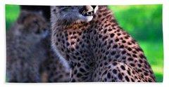 Cheetah Cub Hand Towel