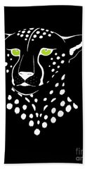 Cheetah Inverted Hand Towel