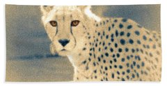 Cheetah Bath Towel