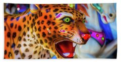 Cheetah Ride Hand Towel