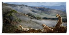 Cheetah Ridge Hand Towel