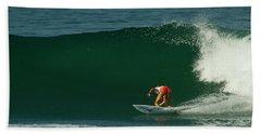 Chelsea Roett Surfer Girl Bath Towel