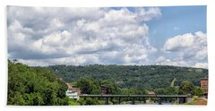 Chenango River Bath Towel