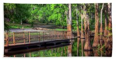 Cheniere Lake Bayou Dock Hand Towel by Ester Rogers