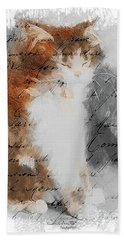 Cher Chat ... Hand Towel