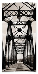 Cherry Avenue Bridge Bath Towel