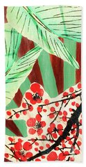 Cherry Blossoms  Bath Towel