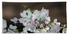 Cherry Blossoms Bath Towel by Glenn Franco Simmons