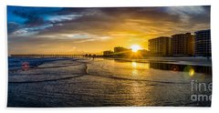 Cherry Grove Sunset Bath Towel