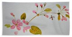 Cherry Pink Hand Towel