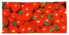 Cherry Tomatoes Bath Towel