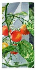 Cherry Tomatoes Hand Towel