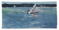 Chesapeake Bay Sailing Bath Towel