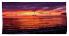 Chesapeake Bay Sunset Hand Towel