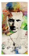Chester Bennington Bath Towel