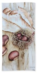 Chestnuts Hand Towel