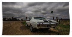 Bath Towel featuring the photograph Chevelle Ss by Aaron J Groen