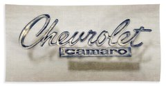 Chevrolet Camaro Badge Bath Towel