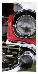 Hand Towel featuring the photograph Chevy Bel Air by Glenn Gordon