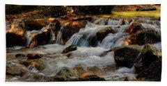 Bath Towel featuring the photograph Cheyenne Canyon Autumn by Ellen Heaverlo