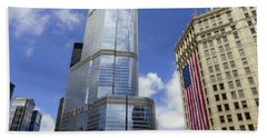 Chicago 2016 10 Bath Towel by Tina M Wenger