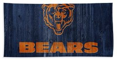 Chicago Bears Barn Door Bath Towel by Dan Sproul