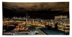 Chicago City And Skyline Hand Towel
