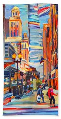 Chicago Colors 4 Bath Towel