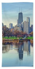 Chicago From Lincoln Park Hand Towel