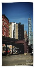 Chicago L Between The Walls Bath Towel