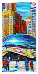 Chicago Millennium  Bath Towel