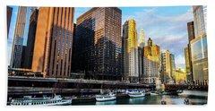 Chicago Navy Pier Hand Towel