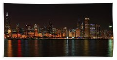Chicago Panoramic Hand Towel