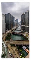 Chicago River Bath Towel