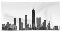 Chicago Skyline No. 1-1 Hand Towel